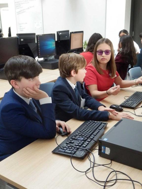 James Toby & Lara working on their resolution.jpg