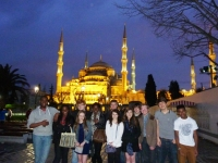 Royal Russell school students by the Blue Mosque.jpg