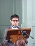 Badshah speaking in committee.JPG