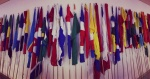 Flags at THIMUN.jpg